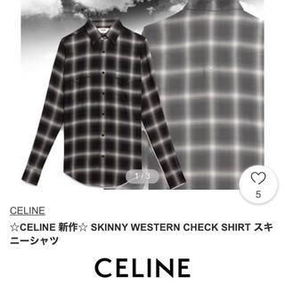 celine - 登坂着 セリーヌ CELINE ウエスタンシャツ バッグ
