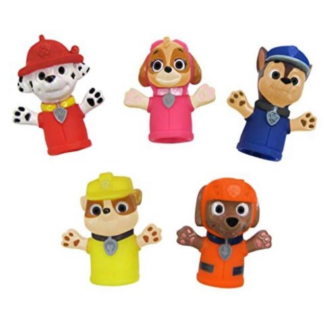 Disney(ディズニー)のパウパトロール paw patrol 指人形 おもちゃ お風呂 バストイ キッズ/ベビー/マタニティのおもちゃ(お風呂のおもちゃ)の商品写真
