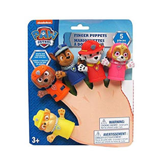ディズニー(Disney)のパウパトロール paw patrol 指人形 おもちゃ お風呂 バストイ(お風呂のおもちゃ)