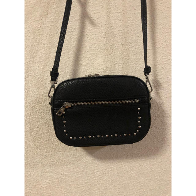 ZARA(ザラ)のなな様専用【美品】ザラ レザー風バッグ レディースのバッグ(ショルダーバッグ)の商品写真