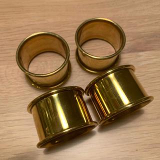 ザラホーム(ZARA HOME)のゴールドナプキンリング(テーブル用品)
