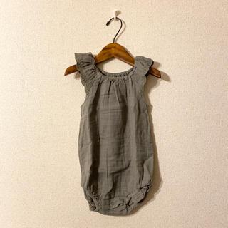 キャラメルベビー&チャイルド(Caramel baby&child )のjamie kay  ロンパース 4y 新品未使用(ワンピース)