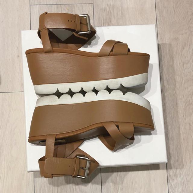 Chloe(クロエ)のsee by chloe プラットフォーム 厚底 サンダル レディースの靴/シューズ(サンダル)の商品写真