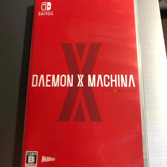 Nintendo Switch(ニンテンドースイッチ)のDAEMON X MACHINA(デモンエクスマキナ) Switch エンタメ/ホビーのゲームソフト/ゲーム機本体(家庭用ゲームソフト)の商品写真