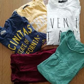 ユニクロ(UNIQLO)のメンズ 大きめtシャツ まとめ売り(Tシャツ/カットソー(半袖/袖なし))