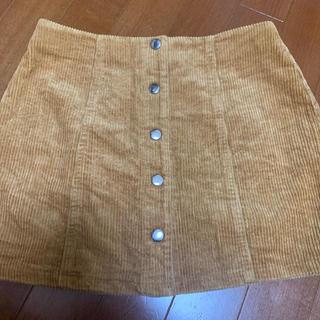 フォーエバートゥエンティーワン(FOREVER 21)の茶色 ミニスカート FOEVER21(ミニスカート)