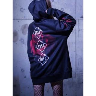 ミルクボーイ(MILKBOY)のTRAVAS  TOKYO  MELTY ROSE 薔薇 パーカー (パーカー)