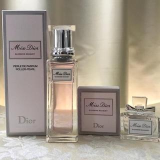 Dior - 【新品】ミスディオール ブルーミングブーケ ローラーパール現品& ミニ香水セット