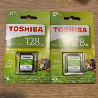 東芝 - 新品 TOSHIBA SDHC/SDXCメモリカード SDAR40N128G