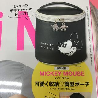 ミッキーマウス(ミッキーマウス)のSPRING付録 ミッキーマウス 筒型ポーチ(ポーチ)
