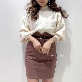 LIP SERVICE - 今期最新作ベルト付きスカート