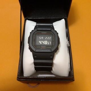 ジーショック(G-SHOCK)のCASIO G-SHOCK  DW-5600HR-1JF 新品未使用 カシオ(腕時計(デジタル))