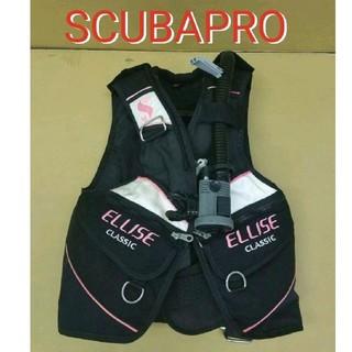 スキューバプロ(SCUBAPRO)のスキューバプロ クラシック エリーゼ BC   ダイビング SCUBAPRO(マリン/スイミング)