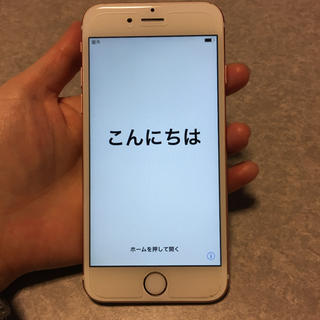 iPhone - iPhone 6s Rose Gold 64 GB SIMフリー
