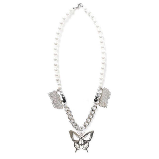 OFF-WHITE - salute 新作 Butterfly necklace サルーテ ネックレス