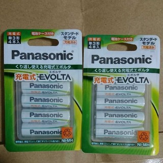 Panasonic - 単3  Panasonic エボルタ  単3形    (合計 8 本 )