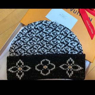ルイヴィトン(LOUIS VUITTON)の新品未使用 VUITTON ヴィトン  ニット帽♡(ニット帽/ビーニー)