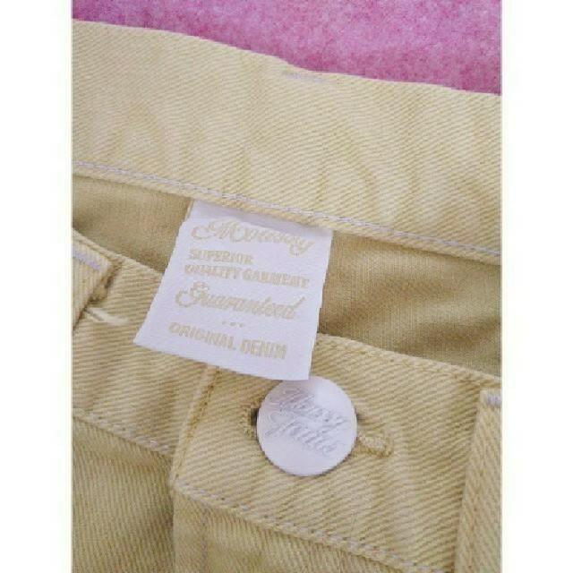 moussy(マウジー)のMOUSSY イエローデニムスカート 美品 春服♪ レディースのスカート(ミニスカート)の商品写真