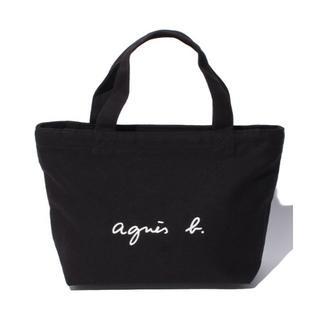 agnes b. - アニエスべーミニトートバッグ(ブラック)
