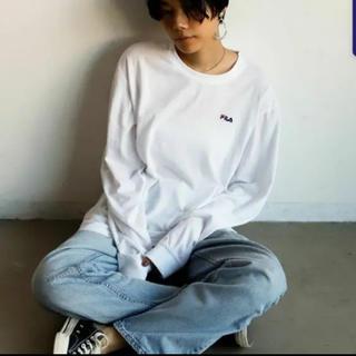 フィラ(FILA)の限定】FILA×LookUp 別注ビッグシルエットロングTシャツ(Tシャツ(長袖/七分))