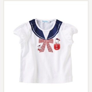 familiar - 【新品】ファミリア Tシャツ 100♡