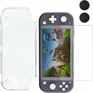 ニンテンドースイッチ(Nintendo Switch)のnintendo switch liteケース、ガラスフィルム新品(その他)