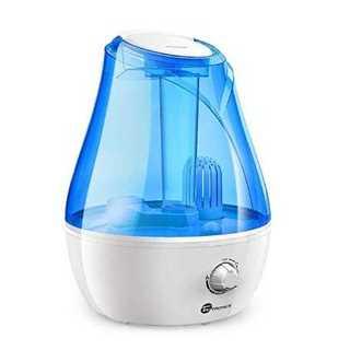 ブルー加湿器 TaoTronics 卓上加湿器 3.5L 大容量 約15畳 省エ(加湿器/除湿機)
