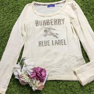 BURBERRY BLUE LABEL - burberryバーバリーブルーレーベル レディニットトップス