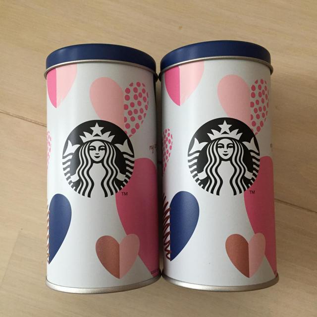 Starbucks Coffee(スターバックスコーヒー)のスタバ 缶  エンタメ/ホビーのコレクション(ノベルティグッズ)の商品写真
