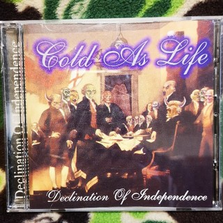 COLD AS LIFE /declination of independenc(ポップス/ロック(洋楽))