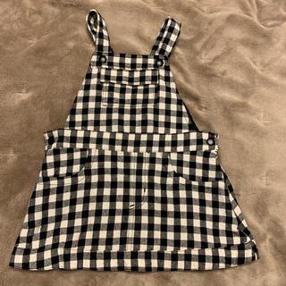 COMME CA ISM - 美品 ゴムサイズム ジャンパースカート