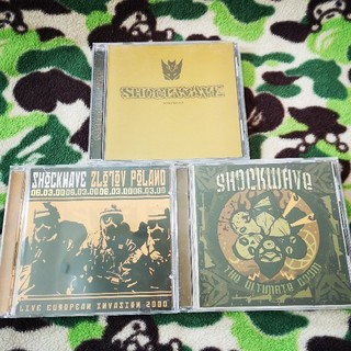 SHOCKWAVE CD3枚セット!覆面HARDCORE(ポップス/ロック(洋楽))