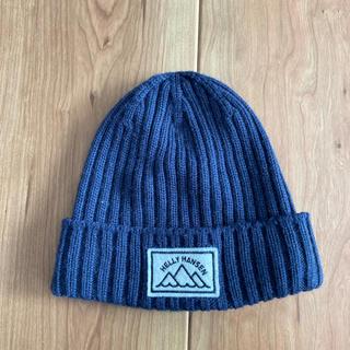 ヘリーハンセン(HELLY HANSEN)の!ヘリーハンセンニット帽 ニットキャップ サイズ40センチ(帽子)