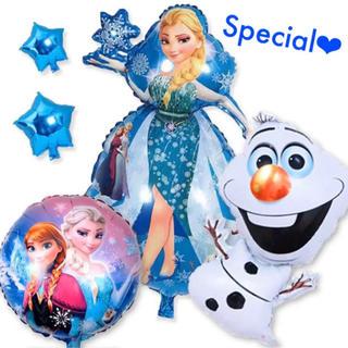 アナ雪 5点セット アナと雪の女王 特大 エルサ アナ オラフ バルーン 風船