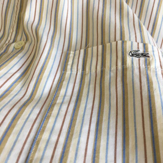 LACOSTE(ラコステ)のLACOSTE  ラコステ ストライプ シャツ メンズのトップス(シャツ)の商品写真