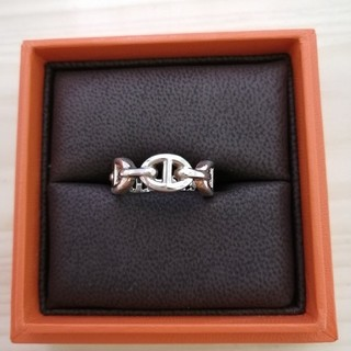 Hermes - エルメス シルバー リング 指輪