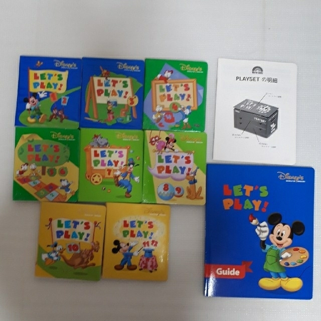 DWE★2008年レッツプレイ キッズ/ベビー/マタニティのおもちゃ(知育玩具)の商品写真