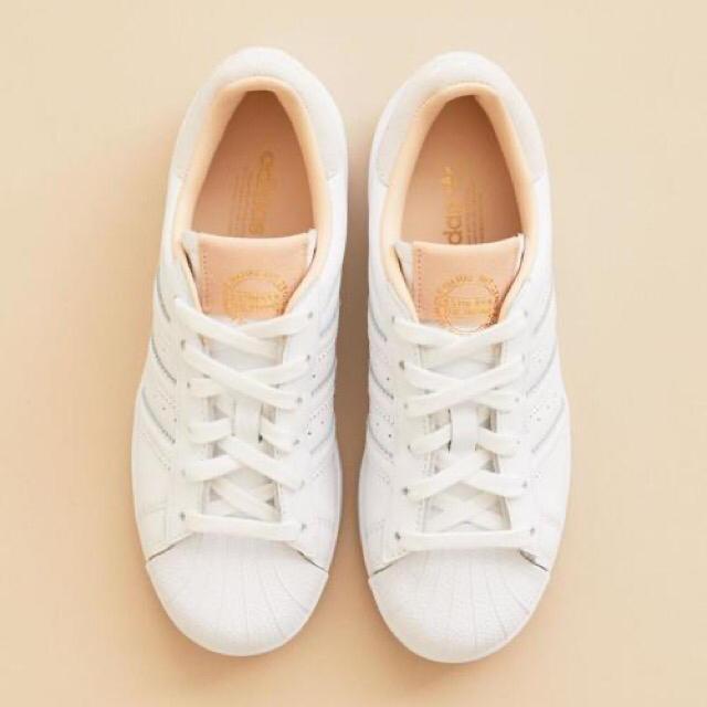 BEAUTY&YOUTH UNITED ARROWS(ビューティアンドユースユナイテッドアローズ)のアディダス)>SUPERSTAR スーパースター レザースニーカー/WHITE レディースの靴/シューズ(スニーカー)の商品写真