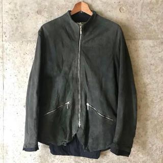 【美品】ポールハーデン レザー ジャーキン コート ジャケット