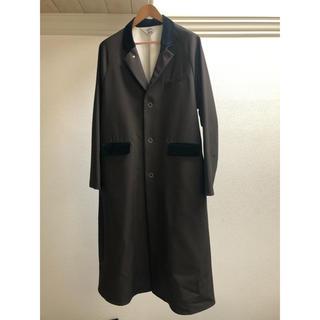 サンシー(SUNSEA)のSUNSEA 18AW Polyys Wool Coat / Ash Brown(チェスターコート)