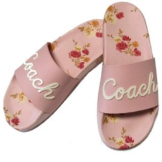 COACH - 【COACH★FG3850】コーチ レディース サンダル 花柄♪ 新品タグ付き