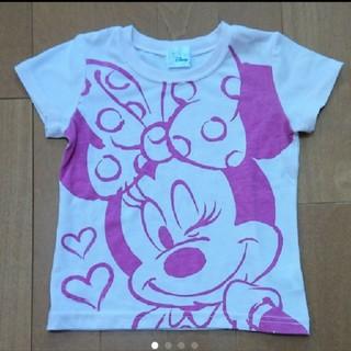 Disney - Disney ミニー Tシャツ 100 ピンク