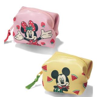 ミッキーマウス(ミッキーマウス)のミッキー &ミニーポーチ(ポーチ)