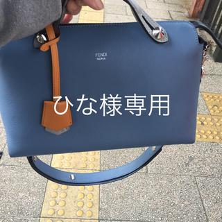 FENDI - フェンディ  バイザウェイ  ハンドバッグ サックス 超美品