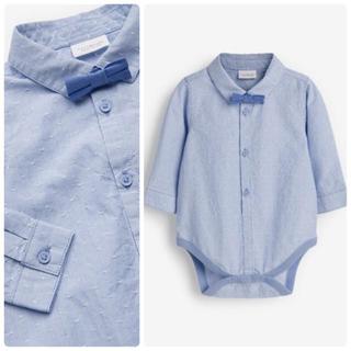 NEXT - 新品❣️ネクスト シャツボディスーツ ブルー