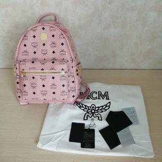 MCM - MCM Back Pack ピンク  S