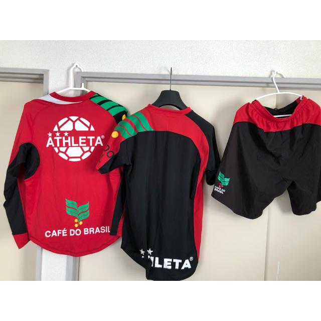 ATHLETA(アスレタ)のアスレタ3点セット スポーツ/アウトドアのサッカー/フットサル(ウェア)の商品写真