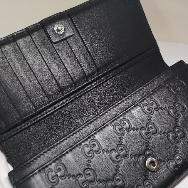 Gucci(グッチ)の☆質屋出品@ii GUCCI グッチ 長財布 シマ メンズのファッション小物(長財布)の商品写真