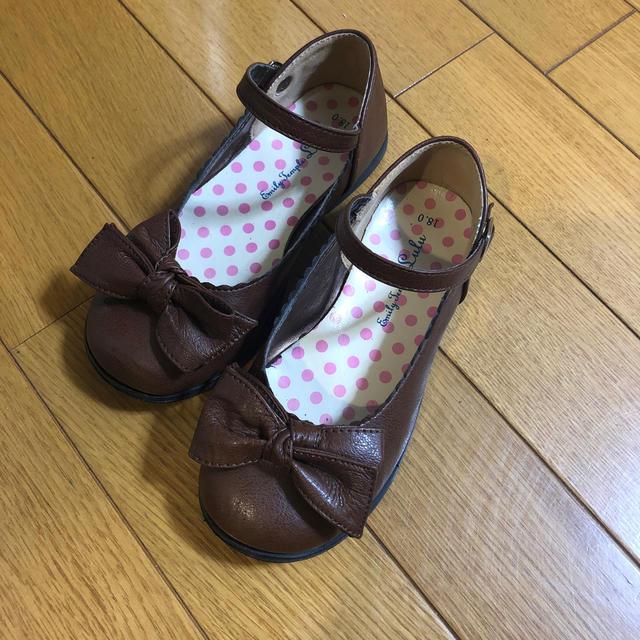 Shirley Temple(シャーリーテンプル)の18cm シャーリーテンプル シューズ キッズ/ベビー/マタニティのキッズ靴/シューズ(15cm~)(フォーマルシューズ)の商品写真