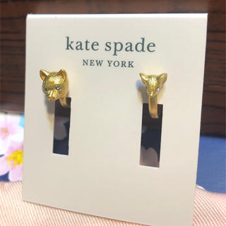 kate spade new york - ケイトスペード ネコ マウス トムトジェリー ピアス スワロフスキー ブランド